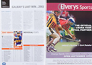 All Ireland Senior Hurling Championship Final,.03.09.2006, 09.03.2006, 3rd September 2006,.Senior Kilkenny 1-16, Cork 1-13,.Minor Tipperary 2-18, Galway 2-7.3092006AISHCF,.Elvery Sports,