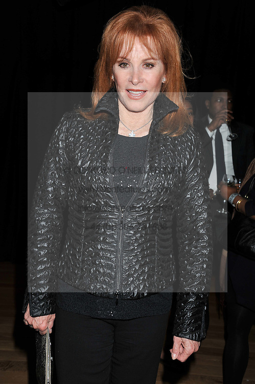 STEFANIE POWERS at the 5th annual West End Eurovision in aid of the make A Difference Trust held at The Dominion Theatre, London on 26th April 2012.