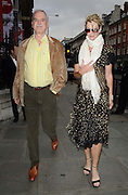 03.JUNE.2009. LONDON<br /> <br /> JOHN CLEESE AND GIRLFRIEND LISA HOGAN ATTEND THE ROYAL ACADEMY OF ARTS, PICCADILLY FOR THE SUMMER EXHIBITION 2009.<br /> <br /> BYLINE: EDBIMAGEARCHIVE.COM<br /> <br /> *THIS IMAGE IS STRICTLY FOR UK NEWSPAPERS AND MAGAZINES ONLY*<br /> *FOR WORLD WIDE SALES AND WEB USE PLEASE CONTACT EDBIMAGEARCHIVE - 0208 954 5968*