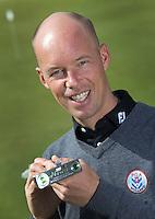 """ASTEN - """"t Woold golpro Rob Mouwen met Masters putter. , puttingcoach van Joost Luiten. COPYRIGHT KOEN SUYK"""