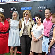 Hillary Rosen, Susan Axelrod, Ariana Huffington and guests
