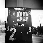 ALABAMA– APRIL, 2008: The sign at a gas station on Interstate 65.