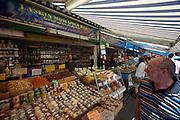 The Naschmarkt, Vienna's biggest market. Spices