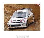 WRC PORTUGAL 2007<br /> Andreas Milkelsen<br /> FOCUS RS WRC 04<br /> STOBART VK M-SPORT FORD RALLYE TEAM