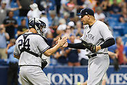 Tampa Bay Rays V New York Yankees 21 May 2017