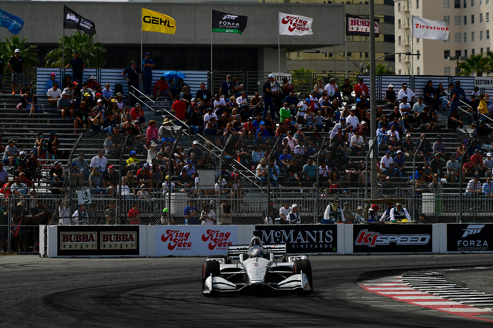Josef Newgarden, Team Penske Chevrolet<br /> Sunday 15 April 2018<br /> Toyota Grand Prix of Long Beach<br /> Verizon IndyCar Series<br /> Streets of Long Beach, California USA<br /> World Copyright: Scott R LePage<br /> LAT Images