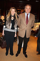 COUNT & COUNTESS EDMONDO di ROBILANT at a party at Ralph Lauren, Bond Street, London in support of the NSPCC's Full Stop campaign on 21st March 2006.<br /><br />NON EXCLUSIVE - WORLD RIGHTS