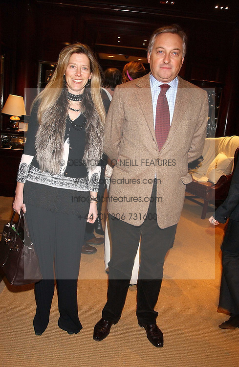 COUNT & COUNTESS EDMONDO di ROBILANT at a party at Ralph Lauren, Bond Street, London in support of the NSPCC's Full Stop campaign on 21st March 2006.<br />