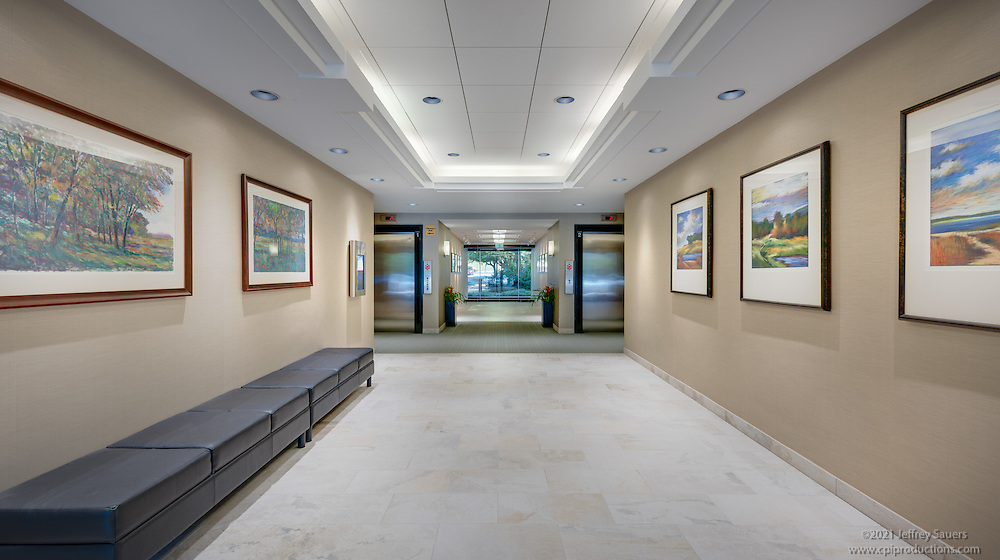 Interior image of Cromwell Center in Towson Maryland by Jeffrey Sauers of Commercial Photographics, Architectural Photo Artistry in Washington DC, Virginia to Florida and PA to New England