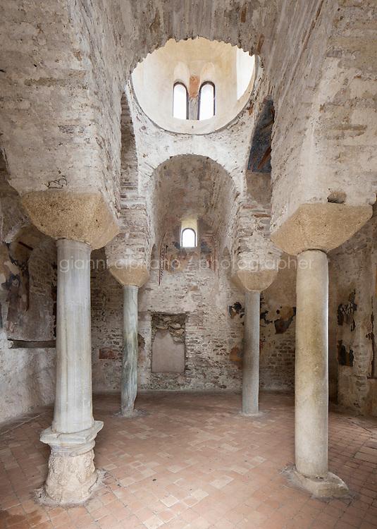 STILO (RC), ITALIA - 12 APRILE 2014: La Cattolica di Stilo, a Stilo, il 12 aprile 2014