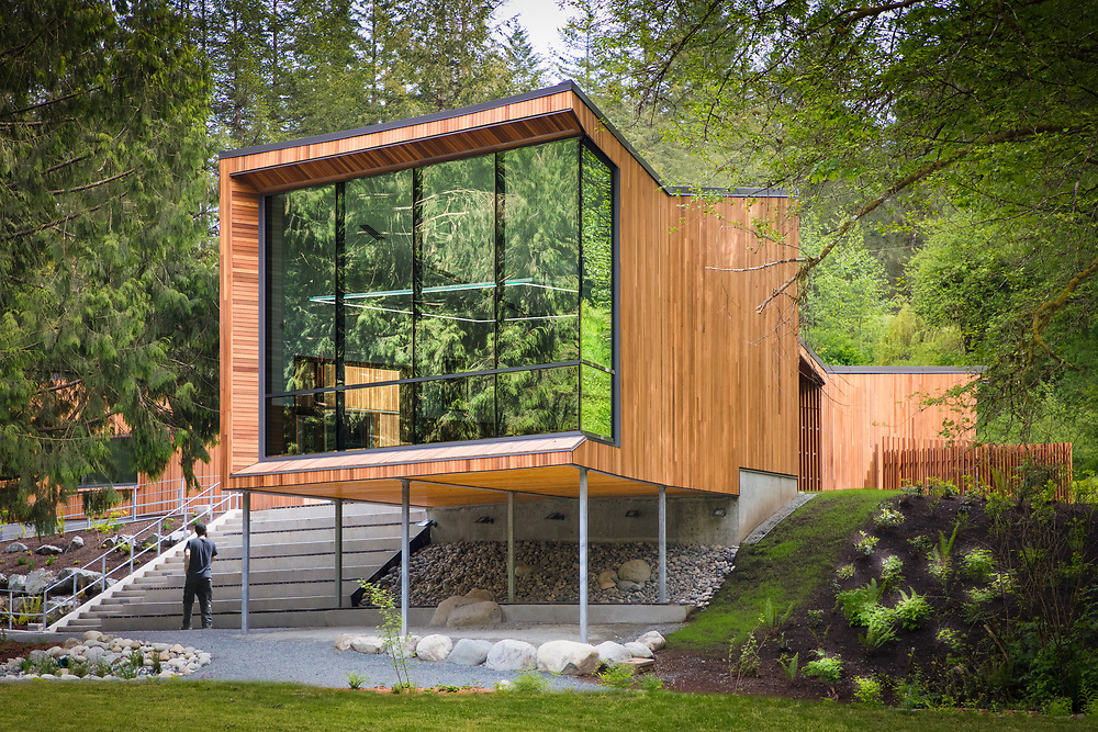 Kanaka Creek Watershed Stewardship Centre, Maple Ridge, British Columbia | Ratio Architecture | 2017