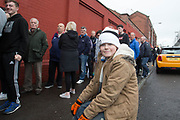 - Dundee United fans queued for up to two hours to get tickets for the Ladbrokes Scottish Premiership play off semi final ties against Falkirk  at Dundee United ticket office, Tannadice Street, Dundee, Photo: David Young<br /> <br />  - &copy; David Young - www.davidyoungphoto.co.uk - email: davidyoungphoto@gmail.com