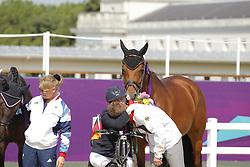 Trabert, Angelika;<br /> Brähler, Heinrich, Ariva-Avanti<br /> London Paralympics 2012<br /> Grade II Freestyle<br /> © www.sportfotos-lafrentz.de/ Stefan Lafrentz