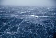 Wind storm in Drake passage, en route Antarctica