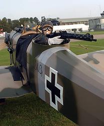 German, Junker, Rear Gunner, 1917, The Great War, 1914-18 Aircraft, , The Duxford Air Show, 14th September 2014