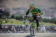 30-34 Men #353 (ROBERTSON Byron) RSA at the 2018 UCI BMX World Championships in Baku, Azerbaijan.