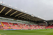 General view of the stadium before the Sky Bet League 1 match between Sheffield Utd and Coventry City at Bramall Lane, Sheffield, England on 13 December 2015. Photo by Mark P Doherty.