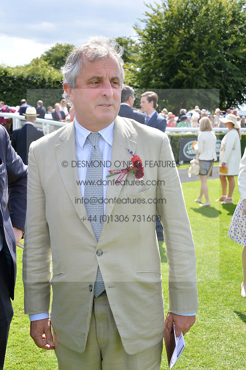 VISCOUNT ASTOR at the Qatar Goodwood Festival - Ladies Day held at Goodwood Racecourse, West Sussex on 30th July 2015.