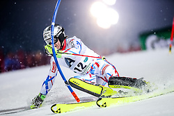 26.01.2016, Planai, Schladming, AUT, FIS Weltcup Ski Alpin, Schladming, Slalom, Herren, 1. Durchgang, im Bild Julien Lizeroux (FRA) // Julien Lizeroux of France competes during his 1st run of men's Slalom Race of Schladming FIS Ski Alpine World Cup at the Planai in Schladming, Austria on 2016/01/26. EXPA Pictures © 2016, PhotoCredit: EXPA/ Johann Groder