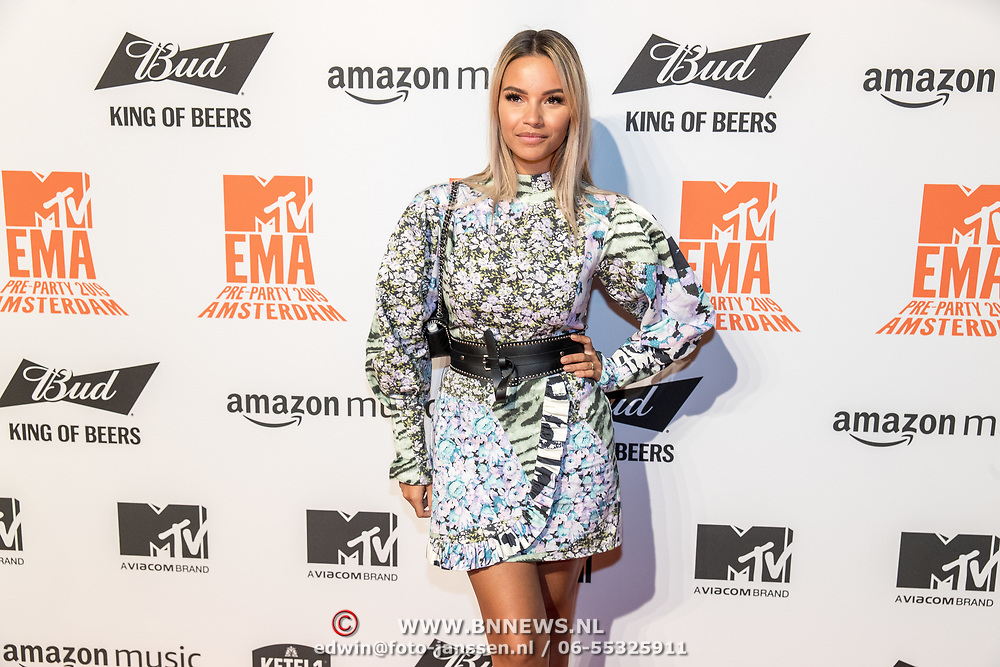 NLD/Amsterdam/20191028 - MTV Pre Party in Amsterdam, Monica Geuze