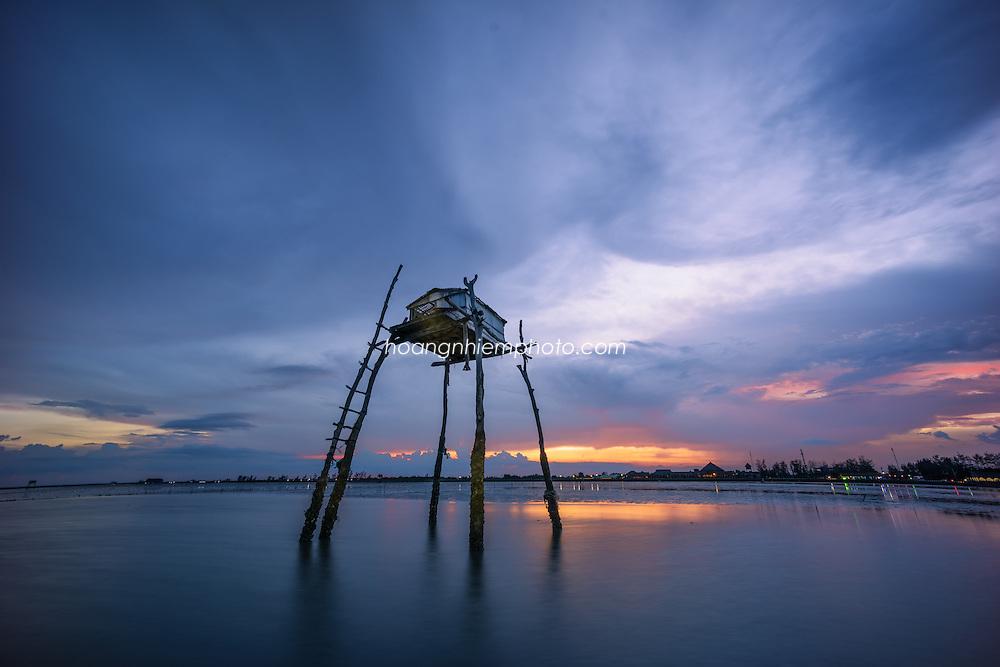 Vietnam images-seascape-phong cảnh biển-Gò Công hoàng thế nhiệm