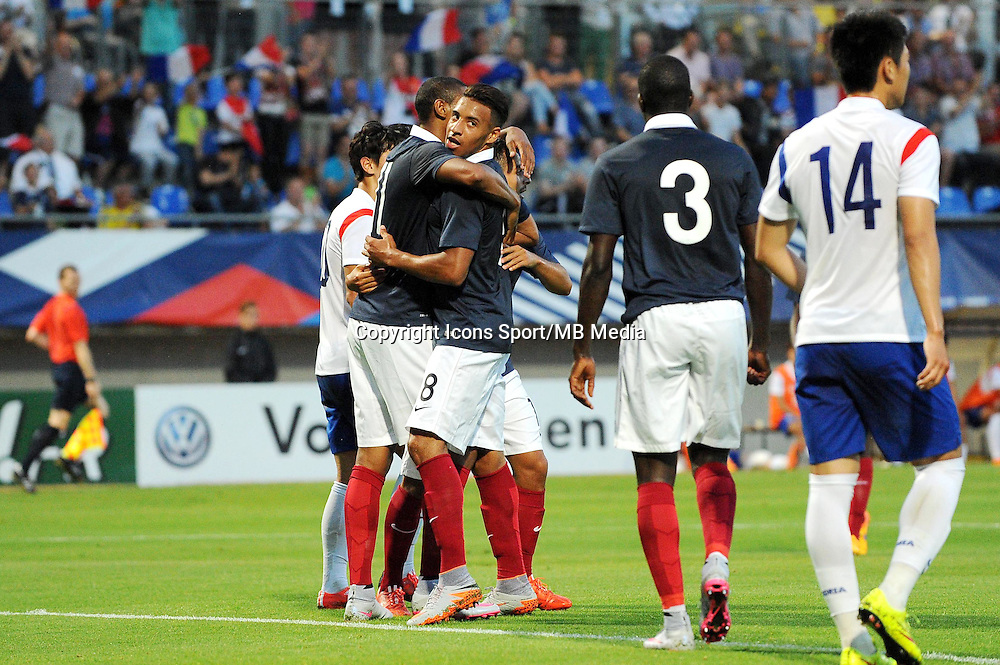 Joie France - Corentin TOLISSO - 11.06.2015 - Football Espoirs - France / Coree du Sud - match amical -Gueugnon<br /> Photo : Jean Paul Thomas / Icon Sport