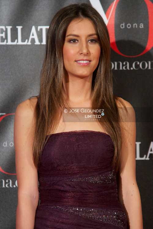 Ana Boyer attends 'Yo Dona' Magazine's Mask Party at Casino on 18 February, 2013 in Madrid