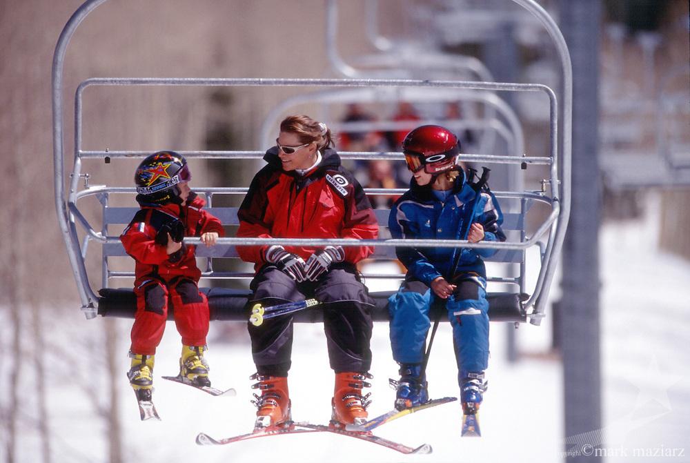 ski day at The Canyons, Utah, USA