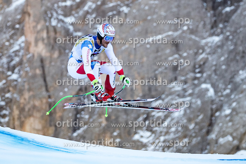 16.12.2016, Saslong, St. Christina, ITA, FIS Ski Weltcup, Groeden, Super G, Herren, im Bild Thomas Tumler (SUI) // Thomas Tumler of Switzerland in action during men's SuperG of FIS Ski Alpine World Cup at the Saslong race course in St. Christina, Italy on 2016/12/16. EXPA Pictures © 2016, PhotoCredit: EXPA/ Johann Groder