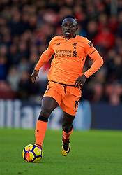 SOUTHAMPTON, ENGLAND - Sunday, February 11, 2018: Liverpool's Sadio Mane during the FA Premier League match between Southampton FC and Liverpool FC at St. Mary's Stadium. (Pic by David Rawcliffe/Propaganda)