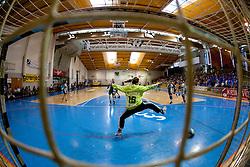 Spela Murn of Krka during handball match between ZRK Krka and RK Krim Mercator in Final of Slovenian Women Cup, on April 3, 2011, in Sports Arena Zagorje, Slovenia. (Photo by Vid Ponikvar / Sportida)