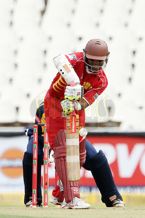 Shivnarine Chanderpaul during 1st Qualifying match of the Karbonn Smart CLT20 South Africa between Uva Next and Yorkshire held at The Wanderers Stadium in Johannesburg, South Africa on the 9th October 2012..Photo by Ron Gaunt/SPORTZPICS/CLT20