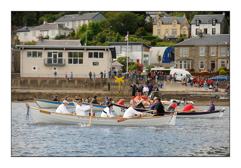 Day three of the Fife Regatta, Cruise up the Kyles of Bute to Tighnabruaich<br /> Skiff Rowing Race, Fintra, Kentra, Astor<br /> <br /> * The William Fife designed Yachts return to the birthplace of these historic yachts, the Scotland&rsquo;s pre-eminent yacht designer and builder for the 4th Fife Regatta on the Clyde 28th June&ndash;5th July 2013<br /> <br /> More information is available on the website: www.fiferegatta.com