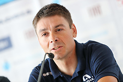 Jure Golcer of Adria Mobil during press conference of cycling race Po Sloveniji - Tour de Slovenie 2015 on June 15, 2016 in Hotel Jama, Postojna, Slovenia. Photo by Morgan Kristan / Sportida
