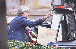© Licensed to London News Pictures. 03/09/2019. London, UK. Former Prime Minister Theresa May closes the boot on her car as she arrives at The House of Commons . Parliament is returning from the summer recess today with MPs expected to try to stop a no-deal Brexit. Prime Minister Boris Johnson has threatened to hold a snap election if the legislation is passed. Photo credit: Peter Macdiarmid/LNP
