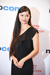 Aoi Miyazaki arriving for the opening ceremony of the MIPCOM in Cannes - Marche international des contenus audiovisuels du 16-19 Octobre 2017, Palais des Festivals, Cannes, France.<br />