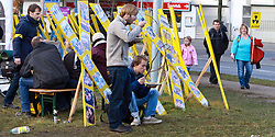 06.11.2010, Castortransport Demonstration, Dannenberg, GER, Staerkung fuer die Demonstranten ohne Mampf kein Kampf, EXPA Pictures © 2010, PhotoCredit: EXPA/ nph/  Kohring+++++ ATTENTION - OUT OF GER +++++