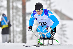PETRENKO Denis, KAZ, LW11 at the 2018 ParaNordic World Cup Vuokatti in Finland