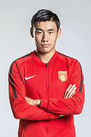 **EXCLUSIVE**Portrait of Chinese soccer player Zhang Chengdong of Hebei China Fortune F.C. for the 2018 Chinese Football Association Super League, in Marbella, Spain, 26 January 2018.