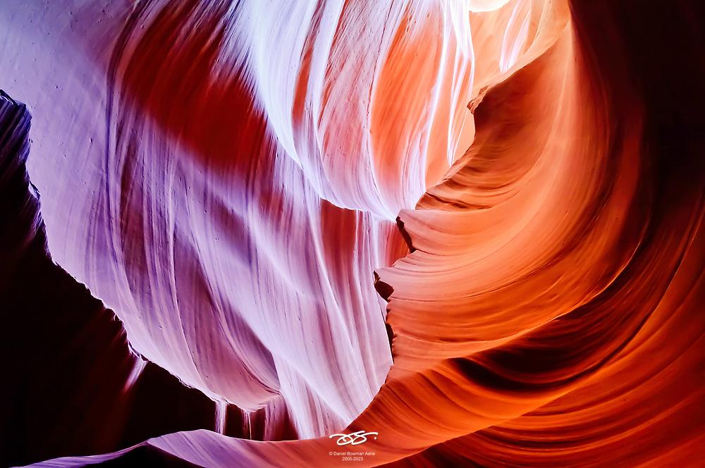 Antelope Canyon detail, near Page Arizona.