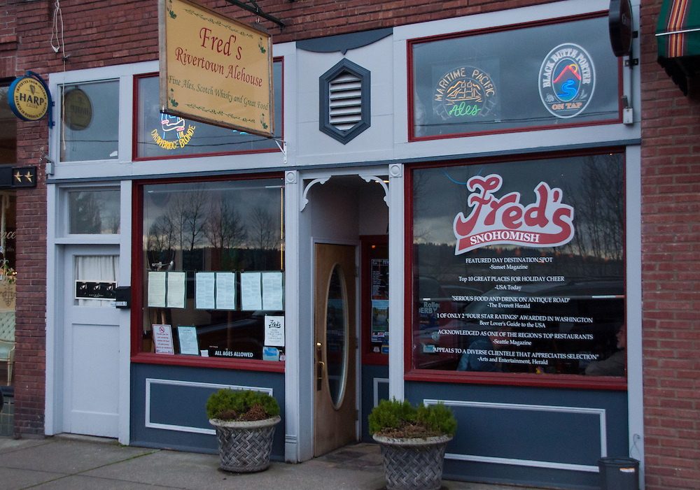 Fred's Rivertown Alehouse, Snohomish, Washington, US