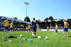 Training session at the fun day - Photo mandatory by-line: Dougie Allward/JMP - Tel: Mobile: 07966 386802 21/07/2013 - SPORT - FOOTBALL - Bristol -  Bristol Rovers Fun Day