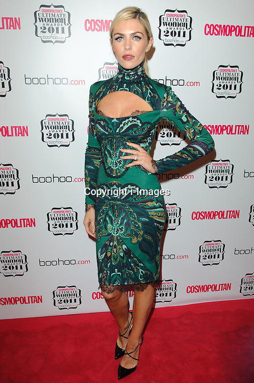 Abbey Clancy at Cosmopolitan's Ultimate Women Awards 2011 in London, Thursday, November 3rd 2011.  Photo by: i-Images