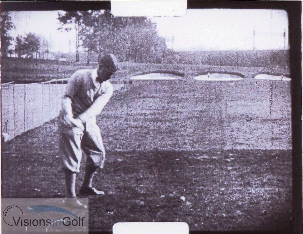 Bobby Jones swing sequence -1<br /> <br /> Picture Credit: &copy;Visions In Golf / Michael Hobbs / Mark Newcombe