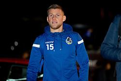 Alfie Kilgour of Bristol Rovers arrives at Hayes Lane prior to kick off - Mandatory by-line: Ryan Hiscott/JMP - 19/11/2019 - FOOTBALL - Hayes Lane - Bromley, England - Bromley v Bristol Rovers - Emirates FA Cup first round replay