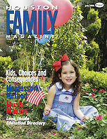 Houston Family July 2006 Cover
