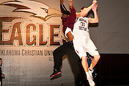 February 21, 2009: The Southern Nazarene University Crimson Storm play against the Oklahoma Christian University Eagles at the Eagles Nest on the campus of Oklahoma Christian University.