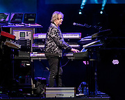 GEOFF DOWNES of Yes at Five Point Theater in Irvine, California
