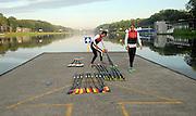 Amsterdam, NETHERLAND,  2011 FISA U23 World Rowing Championships, Wednesday, 20/07/2011 [Mandatory credit:  Intersport Images].