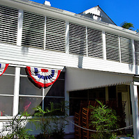 President Truman's Little White House in Key West, Florida<br /> This humble, two-story building was constructed in 1890 on the U.S. Navy base. It served as the home for the commander and briefly housed President William Taft and Thomas Edison early in the 20th century. President Harry S Truman spent his winter vacation here in 1946.  He enjoyed it so much he returned ten more times.  During those 175 days, it was called the Little White House. Eisenhower and Kennedy also used these accommodations during their presidencies. Plus Jimmy Carter and Bill Clinton stayed here after leaving office. You can feel the history as you walk through the museum on a guided tour.